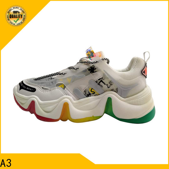 A3 Great sneakers whole sale supply for outdoor activity