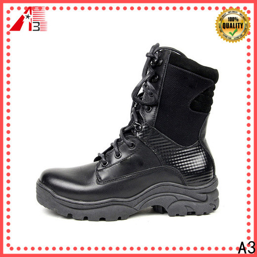 A3 leather boots for women company for winter