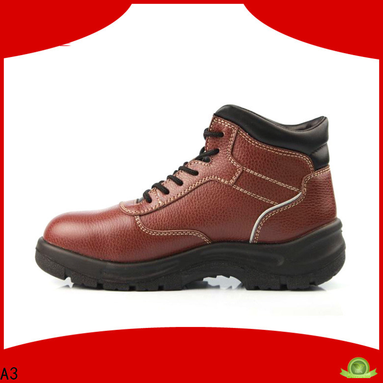 Good quality womens steel toe work boots wholesale for working