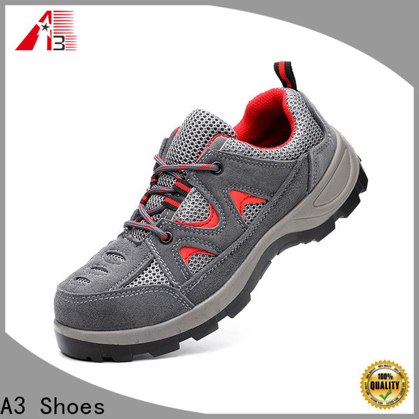 A3 Shoes Best safety shoes for men factory for work place