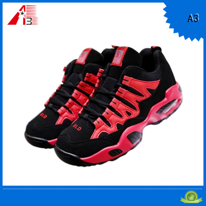 A3 Professinal black sneakers manufacturer for playing basketball