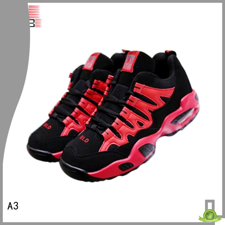 Good qualilty black sneakers company for basketball competition