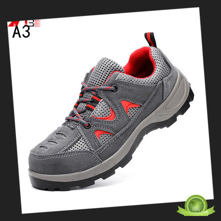 A3 mens safety footwear manufacturer for work place