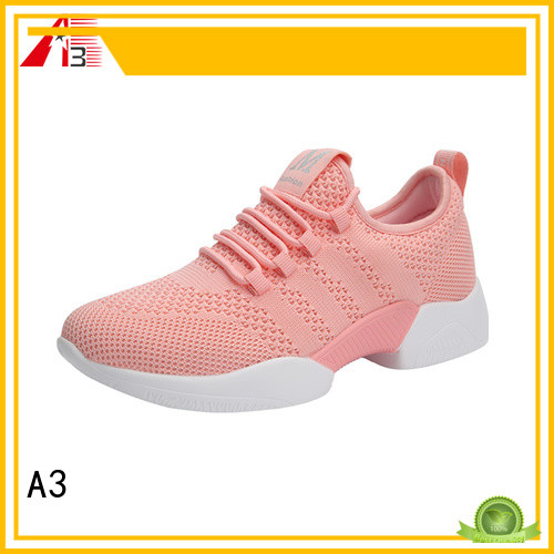 A3 female shoes company for outdoor activity