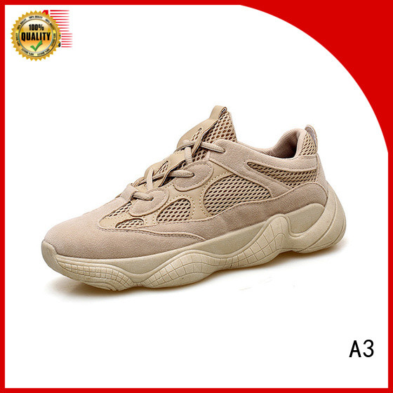 A3 mens casual sneakers manufacturer for sport