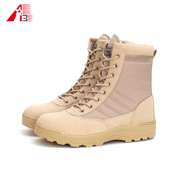 High Ankle Desert Combat Army Military Boot for Men