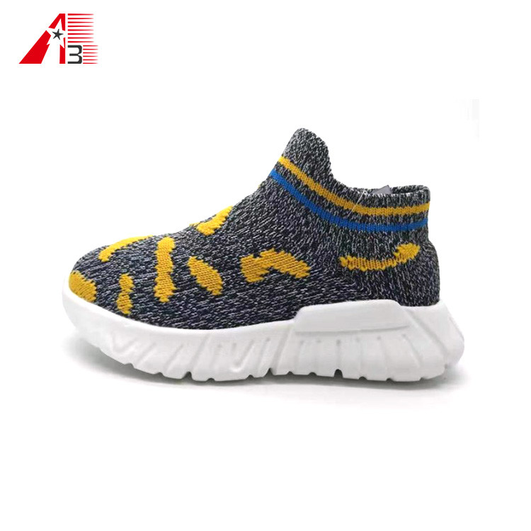 Child Flyknit Sports Shoes Kids Casual Shoes