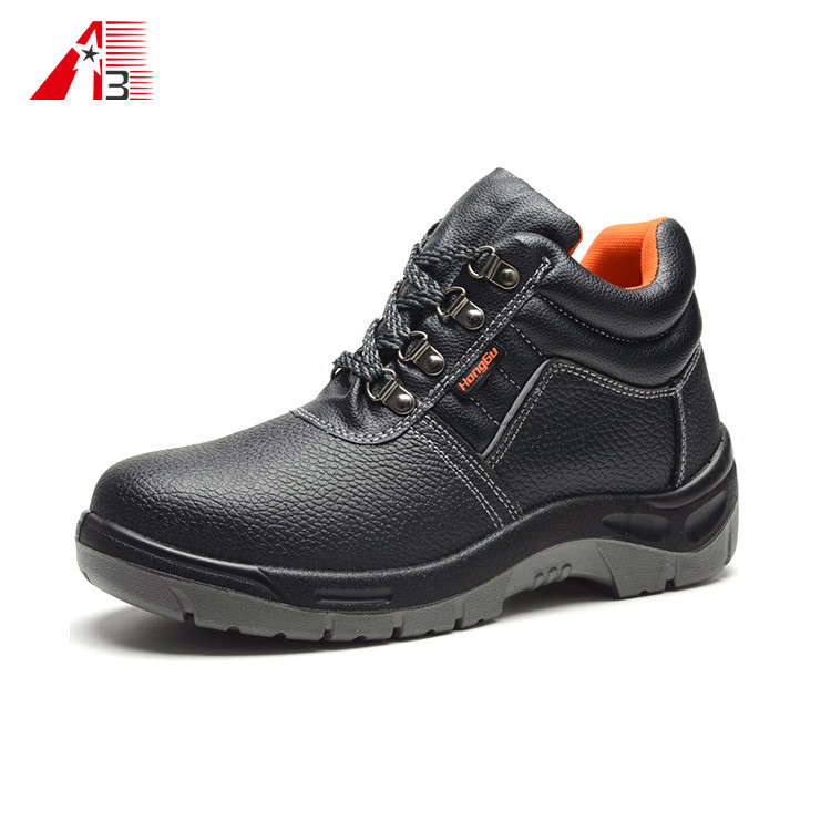 Hot Selling Cheap Genuine Leather Safety Shoes for Men