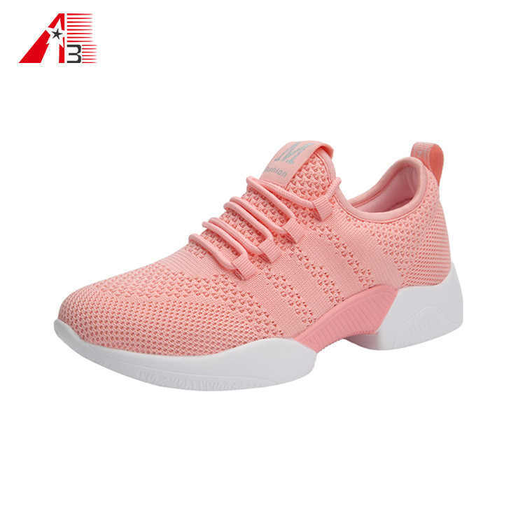 Breathable Mesh Surface Fashion Running Sport Shoes