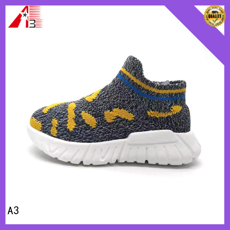 A3 Good quality kid's basketball shoes manufacturer for daily wear