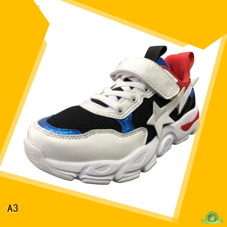 A3 Good quality children footwear factory for sport