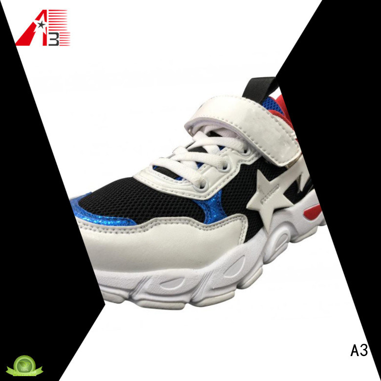 Comfortable kid's basketball shoes supplier for sport
