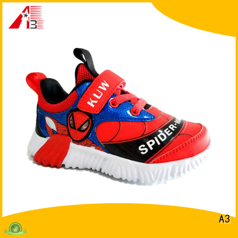 A3 Comfortable kids trainers factory