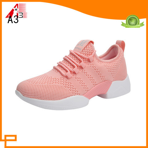 A3 Comfortable ladies casual trainers factory for daily wear