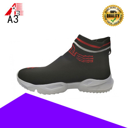 A3 Customized casual male shoes company for sport
