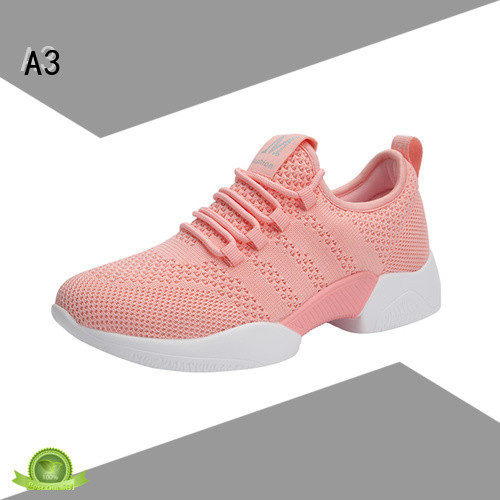 A3 Customized womens casual trainers manufacturer for sport