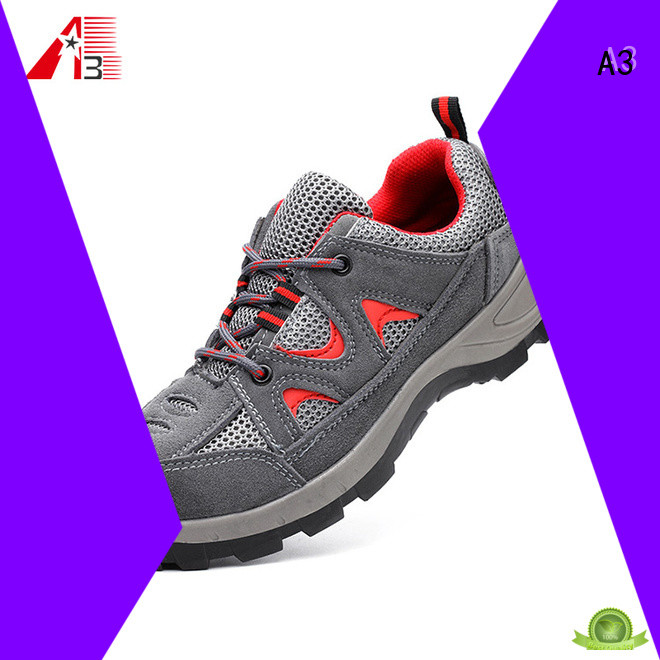 A3 mens safety boots supplier for work place