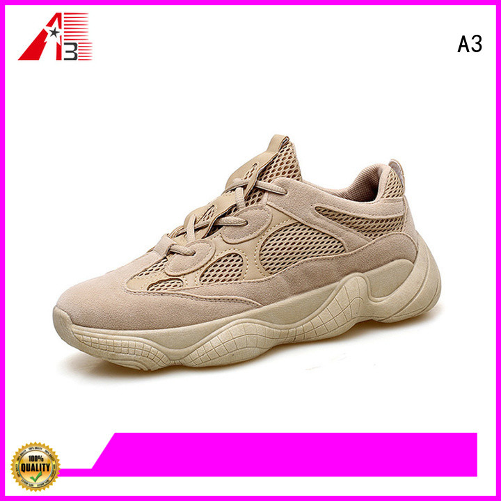 A3 Customized men casual trainers company for sport