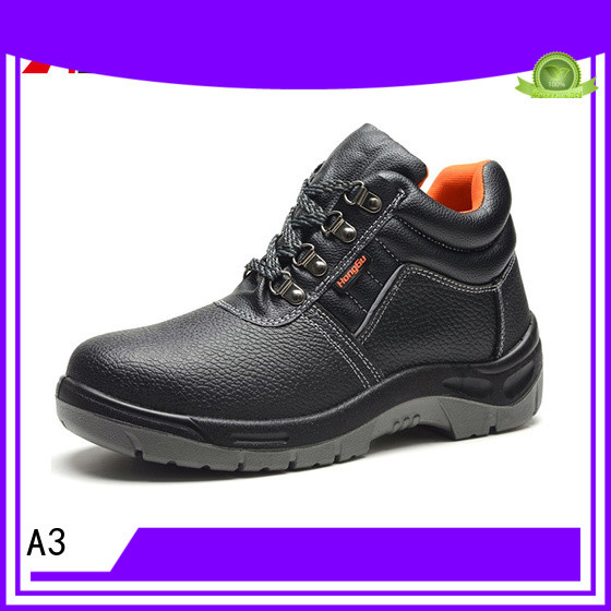A3 mens safety footwear supplier for working