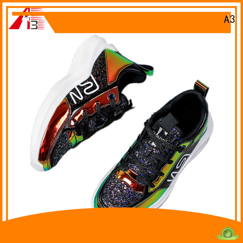 A3 Comfortable men casual trainers manufacturer for sport