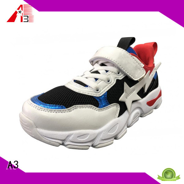 A3 kids sneakers factory for sport