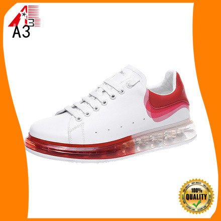 A3 Customized womens casual trainers factory for daily wear