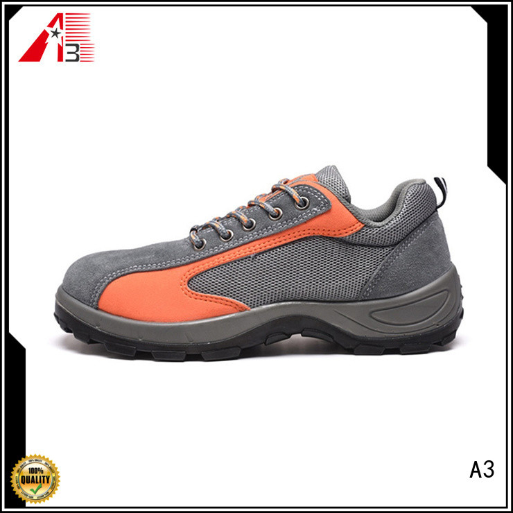 A3 Customized men's sport shoes supplier for outdoor activity