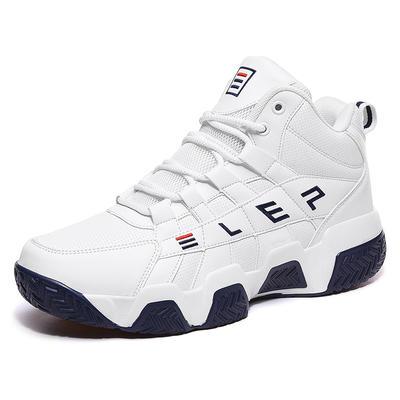 Custom Female Platform Leather Trainers Ladies Sneakers