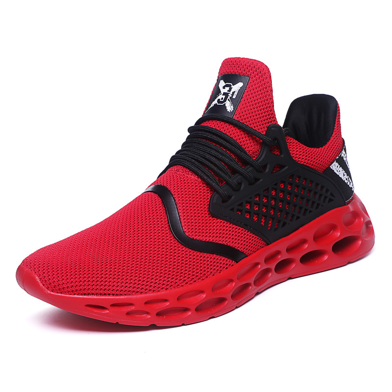 New Fashion Men Comfortable Breathable Casual Light Sport Mesh Jogging Sneakers Shoes