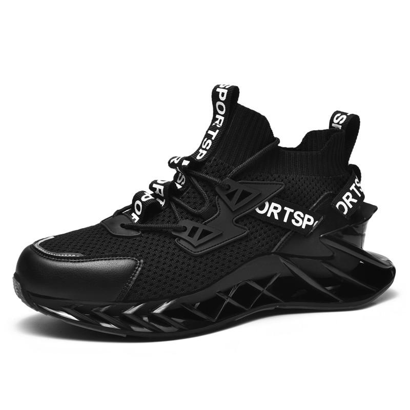 Hot Sale Black Sport Unisex Sports Fashion Shoes