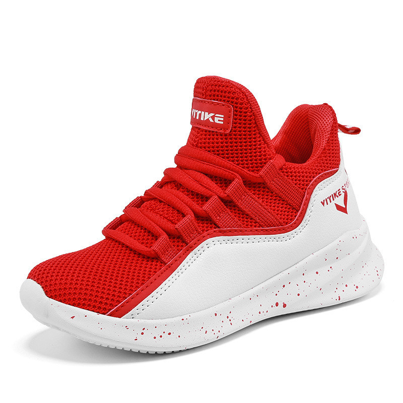 Wholesale breathable fly weave sports shoes outdoor casual shoes men