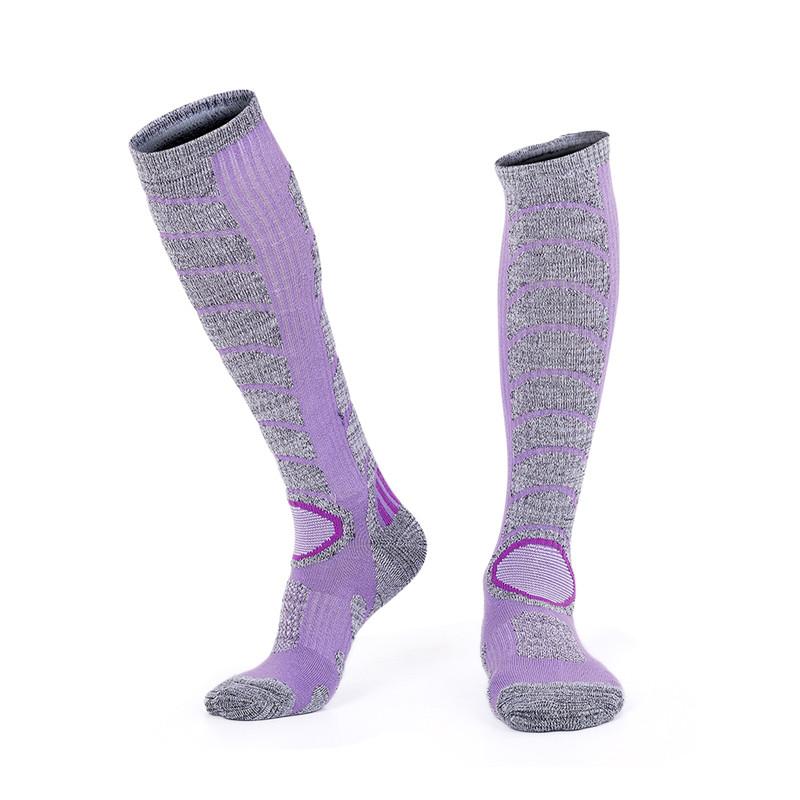 Comfortable fly fabric ski socks