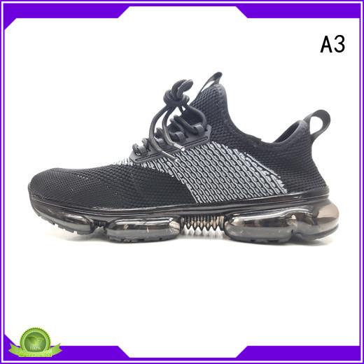 A3 black running shoes manufacturer for running
