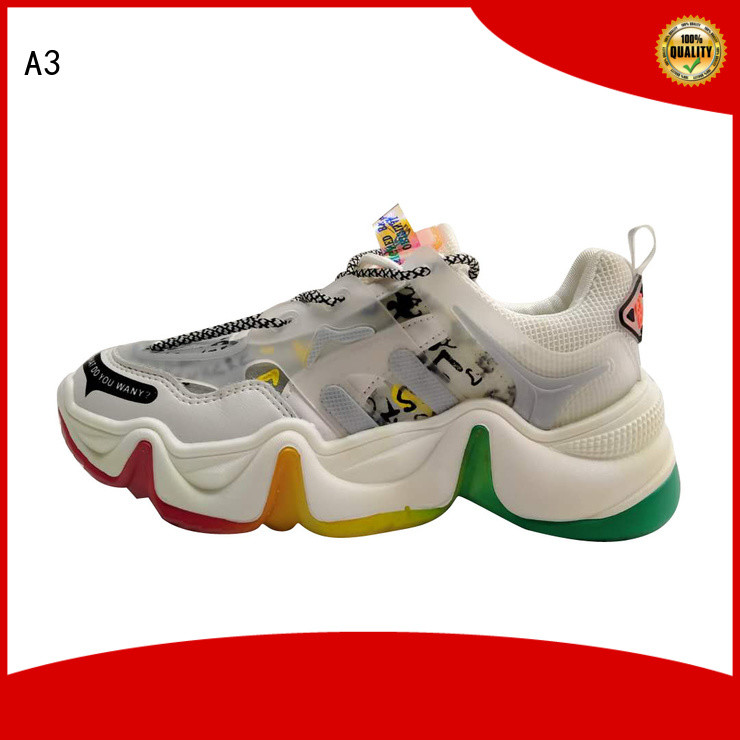 A3 Comfortable female shoes manufacturer for outdoor activity