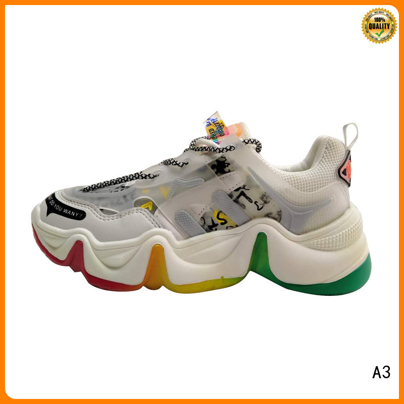 A3 casual shoes supplier for sport