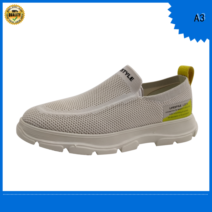 A3 mens casual sneakers manufacturer for daily wear