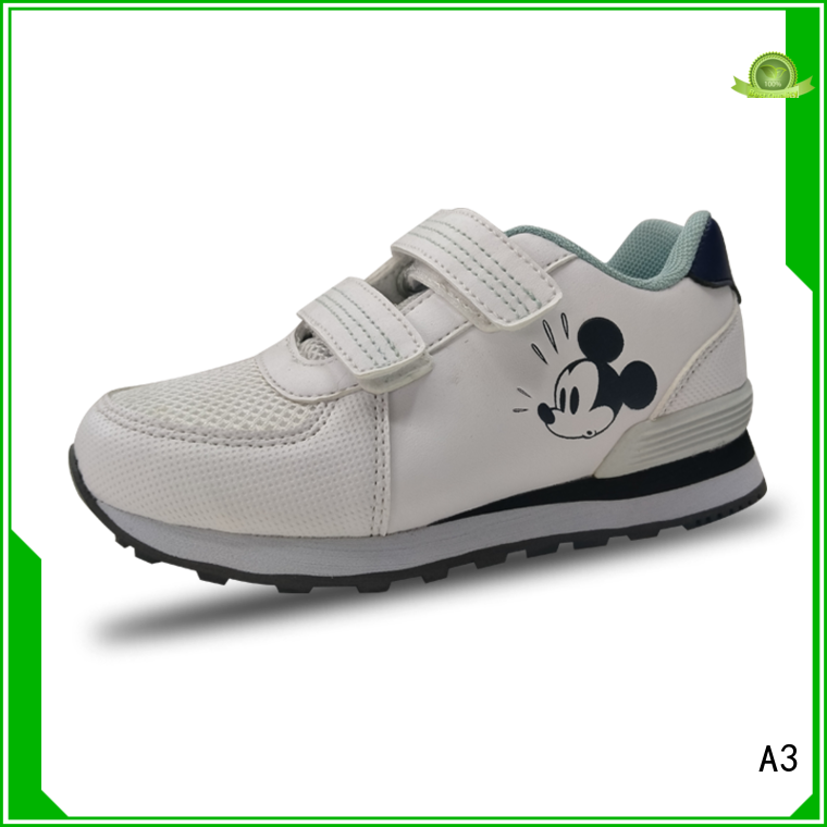 A3 Good quality best kids shoes supplier