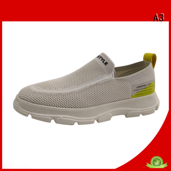 A3 casual male shoes supplier for sport