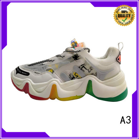 A3 womens casual sneakers manufacturer for sport