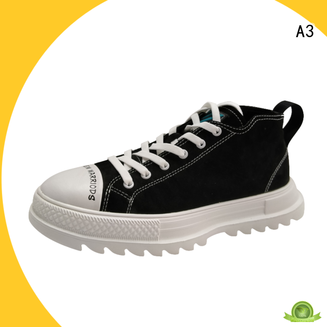 Comfortable men casual trainers supplier for sport